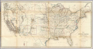 States Territories US General Land Office - Map of united states and us territories