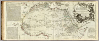Africa, with all its states, kingdoms, republics, regions, islands, &ca. (northern section) / Boulton, S. / 1787