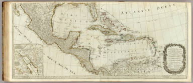 (A new map of North America, with the West India Islands. Southern section) / Pownall, Thomas / 1786