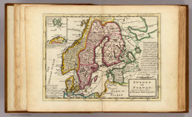 Sweden and Norway. / Moll, Herman, d. 1732 / 1736
