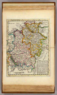 The north west part of Germany. / Moll, Herman, d. 1732 / 1736