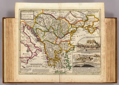 Turkey On Europe Map.A General Map Of Turkey In Europe Hungary C Moll Herman D