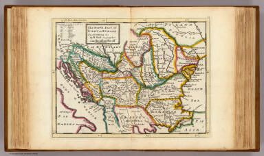 The north part of Turkey in Europe, Slavonia &c. / Moll, Herman, d. 1732 / 1736