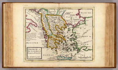 Greece or the south part of Turky in Europe. / Moll, Herman, d. 1732 / 1736