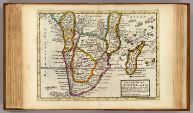 South part of Africa and  Magadascar. / Moll, Herman, d. 1732 / 1736