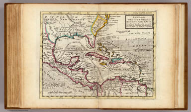 A map of the West-Indies &c., Mexico or New Spain. Also ye trade winds, and ye several tracts made by ye Galeons and Flota from place to place. By H. Moll Geographer. (Printed and sold by Tho: Bowles next ye Chapter House in St. Pauls Church Yard, & Ino: Bowles at ye Black Horse in Cornhill, 1736?)