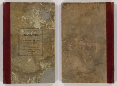 Cover: Frankfort, Ky. insurance maps. / Sanborn Map Company / 1907