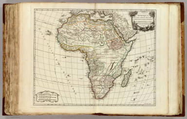 L'Afrique. / Robert de Vaugondy, Didier, 1723-1786 ; Robert de Vaugondy, Gilles, 1688-1766 / 1756