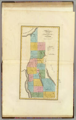 Cayuga County. / Burr, David H., 1803-1875 / 1829