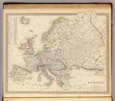 Europe. / Society for the Diffusion of Useful Knowledge (Great Britain) / 1836