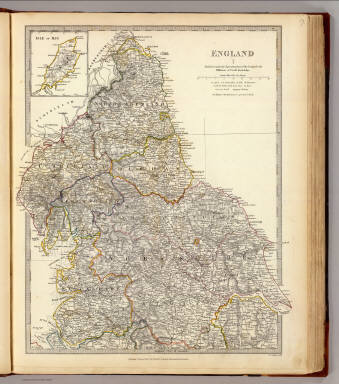 England I. Published under the superintendence of the Society for the Diffusion of Useful Knowledge. Published February 1, 1831 by Baldwin & Cradock, Paternoster Row, London. J. & C. Walker, sculpt. (London: Chapman and Hall, 1844)