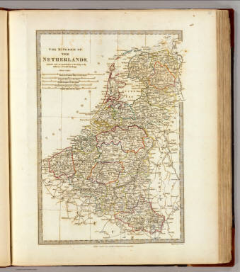 The Kingdom of the Netherlands. Published under the superintendence of the Society for the Diffusion of Useful Knowledge. Engraved by J. & C. Walker. Published September 1st 1830 by Baldwin & Cradock, Paternoster Row, London. (London: Chapman and Hall, 1844)