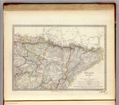 Spain. Espana II. / Society for the Diffusion of Useful Knowledge (Great Britain) / 1831