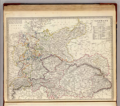 Germany general map. / Society for the Diffusion of Useful Knowledge (Great Britain) / 1840