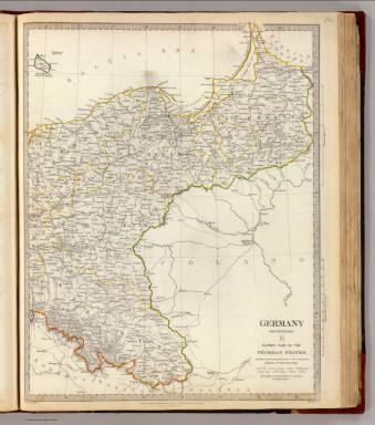 Germany. Deutschland II. / Society for the Diffusion of Useful Knowledge (Great Britain) / 1832