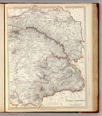 Austrian Dominions II. Galizia, eastern Hungary and Transylvania. J. & C. Walker sculpt. London, published by Baldwin & Cradock, 47 Paternoster Row, Novr. 1st. 1832, under the superintendence of the Society for the Diffusion of Useful Knowledge. (London: Chapman & Hall, 1844)