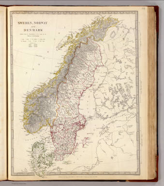Sweden, Norway, Denmark. / Society for the Diffusion of Useful Knowledge (Great Britain) / 1841