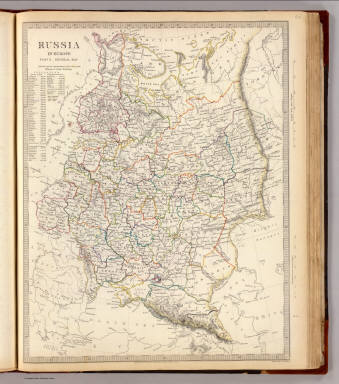 Map Of Europe 1840.Russia In Europe General Map Society For The Diffusion Of Useful