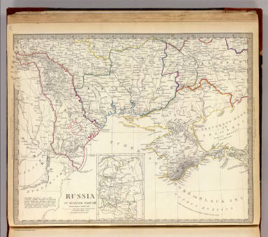 Russia in Europe Part VIII with index map. / Society for the Diffusion of Useful Knowledge (Great Britain) / 1835