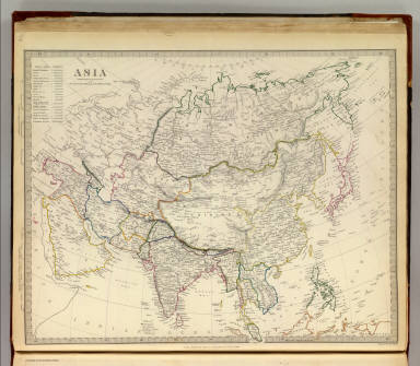 Asia. / Society for the Diffusion of Useful Knowledge (Great Britain) / 1840