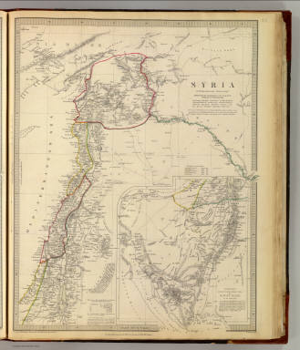 Syria to Sinai. / Hughes, William, 1817-1876; Society for the Diffusion of Useful Knowledge (Great Britain) / 1843