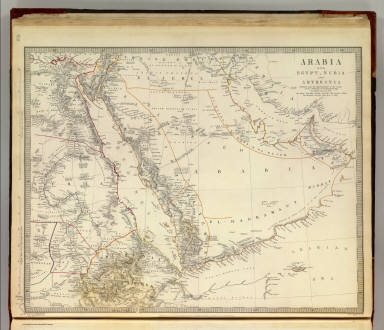 Arabia, Egypt, Nubia, Abyssinia. / Society for the Diffusion of Useful Knowledge (Great Britain) / 1843