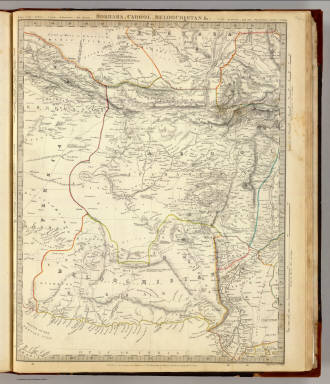 Bokhara, Cabool, Beloochistan &c. / Society for the Diffusion of Useful Knowledge (Great Britain) / 1838