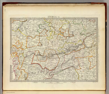 India VI. / Society for the Diffusion of Useful Knowledge (Great Britain) / 1833