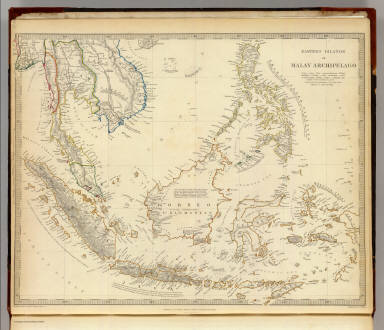 Eastern Islands or Malay Archipelago. Engraved by J. & C. Walker. Published under the superintendence of the Society for the Diffusion of Useful Knowledge. Published Decr. 1st. 1836 by Baldwin & Cradock, 47 Paternoster Row, London. Printed by Russell, Penge. (London: Chapman & Hall, 1844)