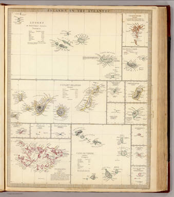 Atlantic Islands. / Society for the Diffusion of Useful Knowledge (Great Britain) / 1836