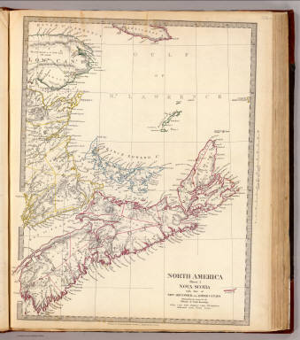 Nova-Scotia, N.B., Lower Canada / Society for the Diffusion of Useful Knowledge (Great Britain) / 1832