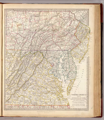 Penn., N.J., Md., Dela., D.C., Virginia. / Society for the Diffusion of Useful Knowledge (Great Britain) / 1833