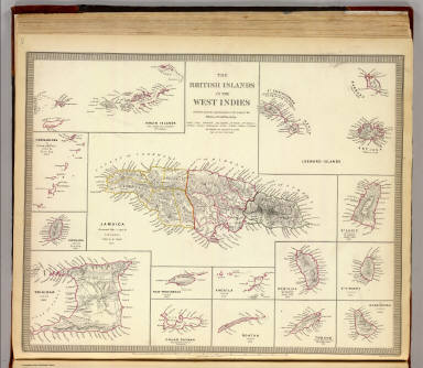 The British islands in the West Indies. / Society for the Diffusion ...