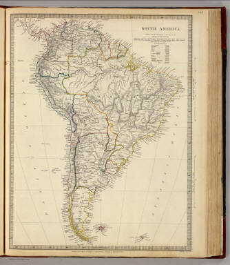 South America. / Society for the Diffusion of Useful Knowledge (Great Britain) / 1842