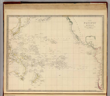 Pacific Ocean. / Society for the Diffusion of Useful Knowledge (Great Britain) / 1840
