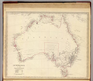 Australia in 1839. Published under the superintendence of the Society for the Diffusion of Useful Knowledge. J. & C. Walker sculpt. London, published by Chapman & Hall, 186, Strand, Feby. 1st. 1840. (1844)
