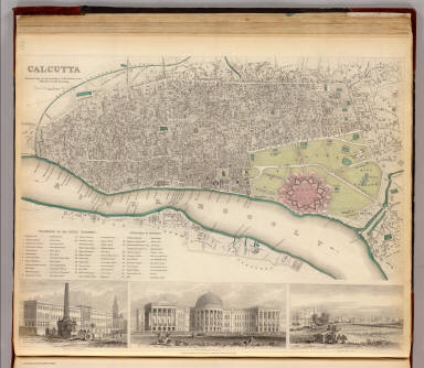 Calcutta. / Society for the Diffusion of Useful Knowledge (Great Britain) / 1842