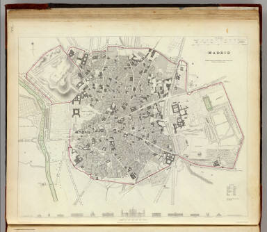 Madrid. / Society for the Diffusion of Useful Knowledge (Great Britain) / 1831