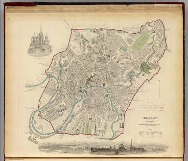 Moscow. Moskvy. / Society for the Diffusion of Useful Knowledge (Great Britain) / 1836