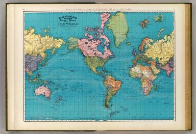 World mercators projection rand mcnally and company 1897 gumiabroncs Image collections