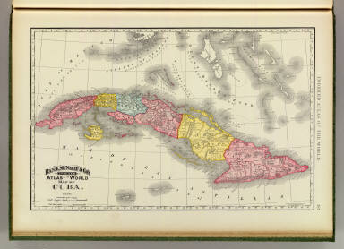 Cuba. / Rand McNally and Company / 1897