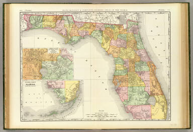 Florida. / Rand McNally and Company / 1897