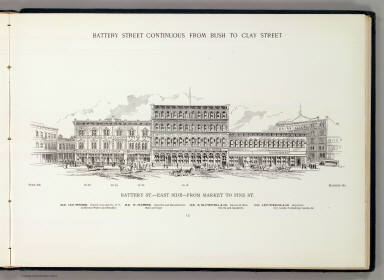 Battery E side Market-Pine. / Hicks-Judd Company; Glover, E. S. / 1895
