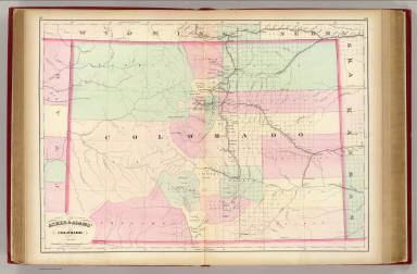 Asher & Adams' Colorado. Entered according to Act of Congress in the year 1874 by Asher & Adams ... at Washington. (New York, 1874)