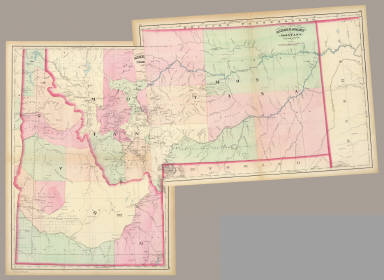 Composite: Montana, Idaho. / Asher & Adams / 1874