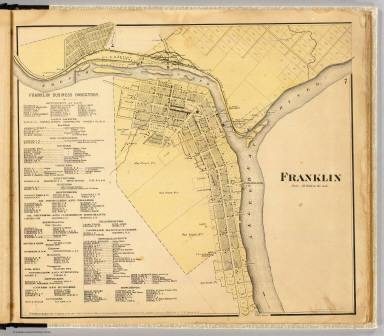 Franklin. Entered ... 1865 ... Southern District of New York by F.W. Beers & Co. Ferd. Mayer & Co. Lithographers, 96 Fulton St., N.Y.