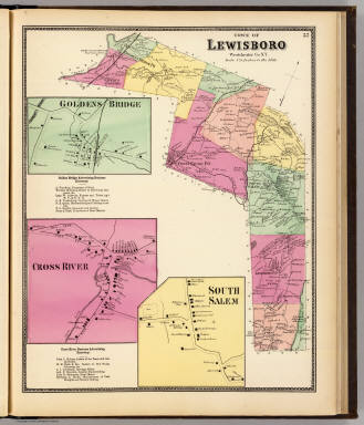 Lewisboro, Town. / Beers, F. W. (Frederick W.) / 1868