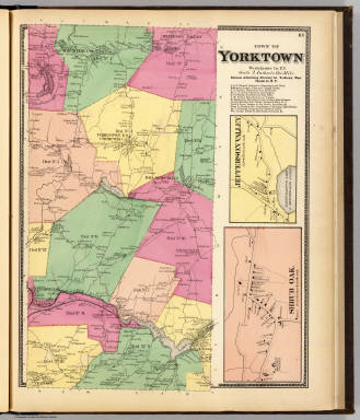 Yorktown, Town. / Beers, F. W. (Frederick W.) / 1868