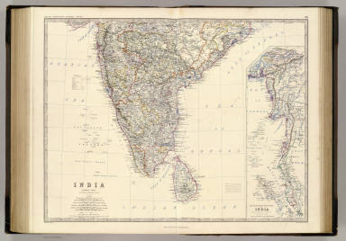 India S. / Johnston, Alexander Keith, 1804-1871 / 1861