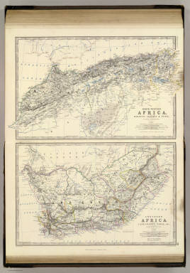 Africa, NW, S. / Johnston, Alexander Keith, 1804-1871 / 1861